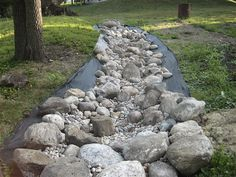 Our dry creek bed...1 of 5