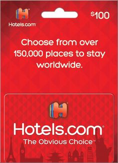 The Hotels.com Gift Card is a large hotel gift card program, redeemable on bookings at over 150,000 hotels in 200 countries worldwide ranging from international chains and all-inclusive resorts to local favorites and bed and breakfasts. Hotel Gift Cards, Hotel Card, How Its Going, Going To Work, Bad Customer Service, Best Gift Cards, All Inclusive Resorts, Parent Gifts, Last Minute Gifts