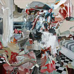 "Saatchi Art Artist Benjamin  Cohen; Painting, ""'Study of an Interior/ Exterior with Dumbo' "" #art"