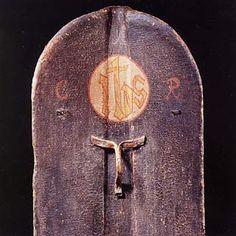 A Fine Bohemian Pavise, circa 1480 (back)