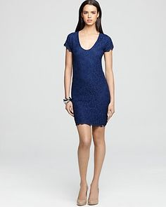 DIANE von FURSTENBERG Dress - Wanda Lace |     Love this dress but need a different color