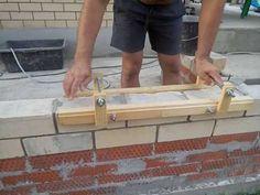 Tutorial Completo Como Fazer Gabarito para Assentar Tijolos / laying bricks / 砌磚 - YouTube Bath Caddy, Brick