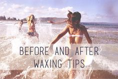 Taking some time before and after your wax to implement these small tips will give you a wonderfully smooth experience! It's #skincarewednesday and Bonnie's on the blog, schooling us on summer waxing tips!!