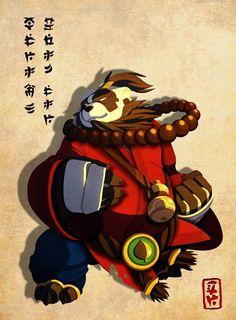 Pandaren Monk color. by Jmadf