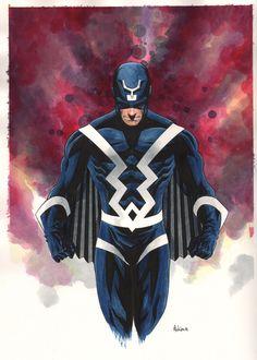 Black Bolt by Mike McKone Comic Art