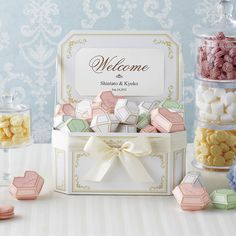 Cookie Packaging. Jewel shapes. Paper Crafts. Party Favors. Wedding Reception.