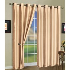 Found it at Wayfair - Grommet Curtain Panels