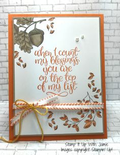 Stampin' Up! Count My Blessings – Freshly Made Sketches – Stamp It Up with Jaimie