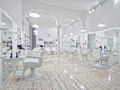 Le salon de coiffure qui donne envie... A Lisbonne.
