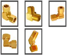 Brass Compression Elbows #BrassCompressionElbows  #CompressionElbows #BrassElbows