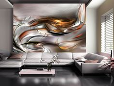 Zlaté spojení Flat Screen, Clouds, Abstract, Artwork, Fri, Decor, Products, Fotografia, Photo Wallpaper