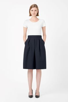 Pleated wool skirt | COS