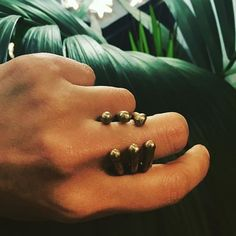 Bone ring in oxydized silver Bones, Jewels, Silver, Handmade, Instagram, Hand Made, Jewerly, Gemstones, Fine Jewelry