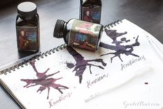 One ink, three shades! Noodler's newest ink, American Aristocracy is fast-drying and hand-bottled to produce three distinct varieties. Fill your fountain pen with a surprise!