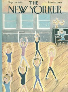 The New Yorker - Saturday, September 10, 1960 - Issue # 1856 - Vol. 36 - N° 30 - Cover by : Ilonka Karasz