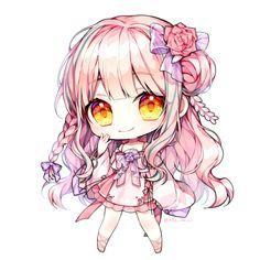 Chibi Manga, Naruto Chibi, Chibi Cat, Cute Anime Chibi, Manga Anime, Anime Naruto, Chibi Kawaii, Kawaii Art, Kawaii Anime Girl