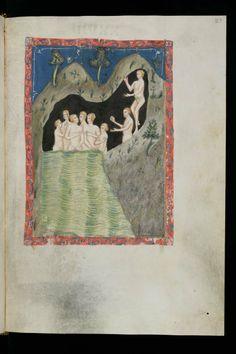 Petrus de Ebulo, De balneis Puteolanis Période: XIVe s. (vers 1350-1370 ?) Cologny, Fondation Martin Bodmer, Cod. Bodmer 135: [Petrus de Ebulo], De balneis Puteolanis (http://www.e-codices.unifr.ch/fr/list/one/cb/0135)