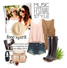 """Music Festival Style"" by tracey-mason ❤ liked on Polyvore featuring P.A.R.O.S.H., Glamorous, rag & bone, Laura Mercier, Hunter, Marshall, women's clothing, women, female and woman"
