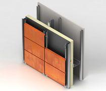 COR-TEN steel facade cladding Interlocking Plank Kingspan GmbH - Benchmark