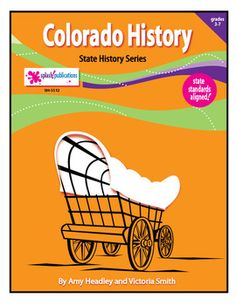 Colorado History is a state-aligned content-based unit with 6 COMPLETE lessons.  We've packed this unit with all of the content and a balanced mix of higher and lower level activities that students need to learn about the early history of Colorado.  Lessons include:   Colorado's Ancient Peoples, Colorado's Explorers, Americans in Colorado, The Mexican War, Territorial Days, and   Statehood.