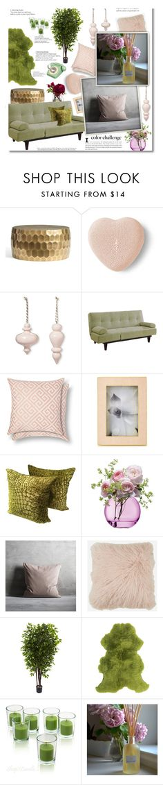 """""""Sans titre #744"""" by zoey-heart ❤ liked on Polyvore featuring interior, interiors, interior design, home, home decor, interior decorating, AERIN, Acme Furniture, Brentwood Originals and LSA International"""