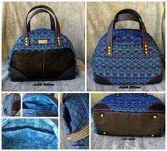 Judith's Large Bodacious Bowler Bag - Chris W Designs bag pattern  PDF bag patterns  Handmade bag
