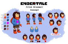 Undertale,фэндомы,Undertale AU,Endertale,Frisk,Undertale персонажи,TC-96