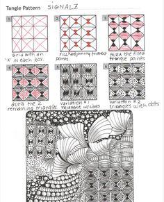 How to draw SIGNALZ « TanglePatterns.com