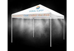 Low Pressure Misting Tents