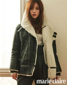 Han Hyo Joo bundles up for the cold weather in 'Marie Claire' | allkpop.com