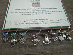 wine charms - how to package