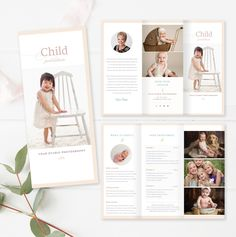 Photography Brochure, Photography Guide, Photography Marketing, Photography Business, Bi Fold Brochure, Brochure Template, Flyer Template, Photoshop Elements, Photoshop Actions