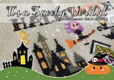 It's a spooky wor(l)d - Halloween SAL