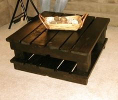 pallet coffee table! by chasity