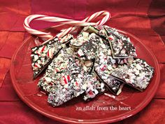 an affair from the heart: White and Dark Chocolate Peppermint Bark