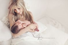 mother & baby, such a soft beautiful moment  Kristen Cook