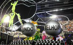 Mocidade Independente de Padre Miguel é a quinta escola a desfilar na Sapucaí, e conta a história do maior festival de Rock do país