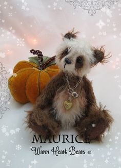Maurice was created by Carolyn Robbins from Warm Heart Bears