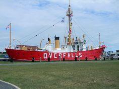 Lightship Overfalls, Lewes, DE 07/22/2012
