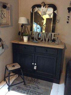 New vintage interieur kasten ideas Upcycled Furniture, Painted Furniture, Diy Furniture, Diy Interior, Home Staging, Home Design, Furniture Makeover, Sweet Home, Art Deco