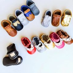IvoryKate leather baby shoes for her AND him!! Quality and unique... double whammy! @katiecall