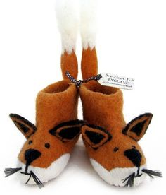c3577eacf1bb3 Finlay Fox slippers now for grown ups Yesss! Fox Slippers