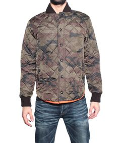 That's It Quilted jacket camouflage | Lindelepalais.com 18802