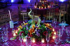Indian Wedding Floral Decor Centerpiece In Orlando Florida By Asaad Images