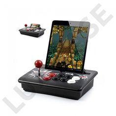 iCade-II CORE mini spillemaskine til iOS og Android Tablets Cool Gadgets, Ios, Smartphone, Android, Iphone, Cool Stuff, Retro, Games, Silver