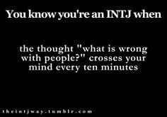 Im INFJ, but i do this ALL the time!!