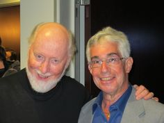 John Williams with Steve Vertlieb photo 1 - click to enlarge