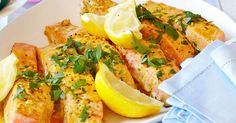 Create this delicious oven-roasted Moroccan salmon for dinner tonight, it's packed full flavour.and, both adults and kids will love it! Cooking For A Crowd, Just Cooking, Cooking With Kids, Coles Recipe, Lemon Recipes, Savoury Recipes, Oven Roast, Winter Food