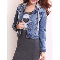 GET $50 NOW | Join Dresslily: Get YOUR $50 NOW!http://m.dresslily.com/womens-detachable-hooded-short-buttoned-jacket-product1485023.html?seid=AMfh7StUrC0O4IMvpQ9Uj23OfS