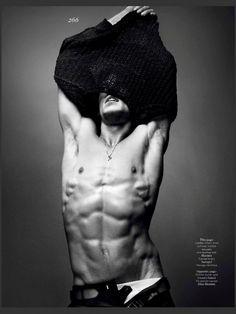 nice Vogue Hommes International Primavera.Verão 2013| Jarrod Scott por Sølve Sundsbø